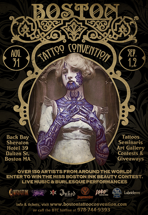 I Did The Boston Tattoo Convention 2013 Poster